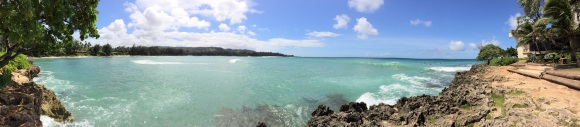 A panoramic of North Shore...